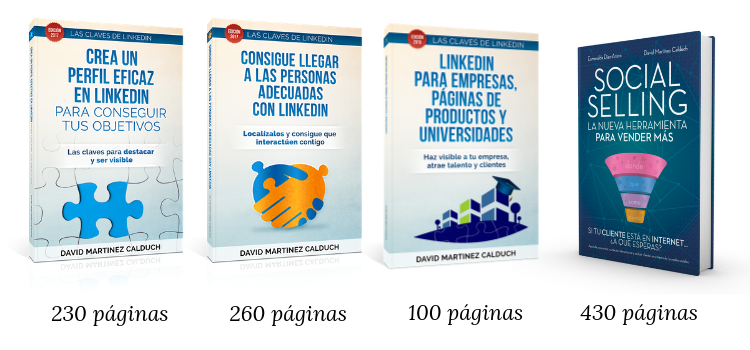 Libros Social Selling y LinkedIn en Amazon - David Martinez Calduch